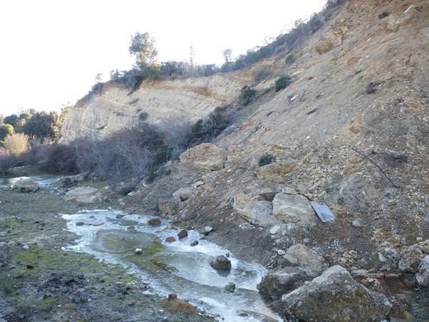Première prospection sur le site de Francardu