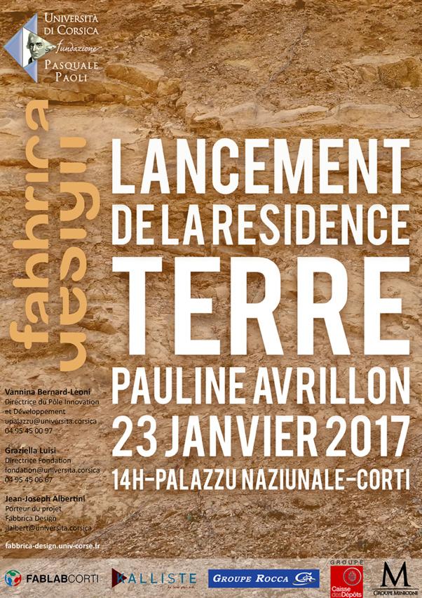 Lancement officiel de la résidence Fabbrica Design #Terre