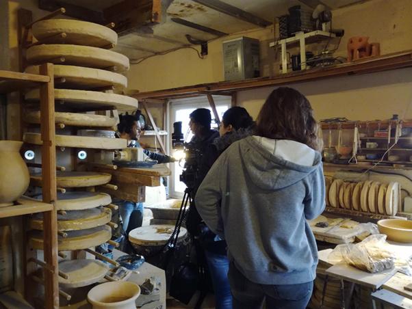 Quelques photos de tournage à Riventosa