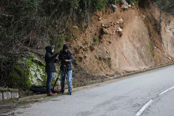 Quelques photos de tournage à Corte, Levie et Furiani