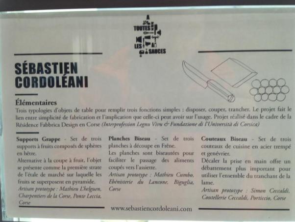 A Fabbrica Design s'exporte : Les créations de Sébastien Cordoleani en situation !