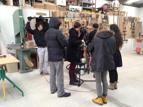 Fabbrica Design: souvenirs de tournage du documentaire des étudiants