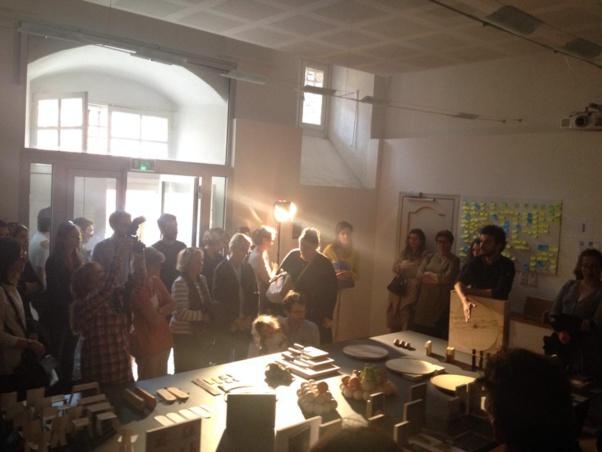 22 avril 2015: présentation des prototypes de Fabbrica Design, première du nom !