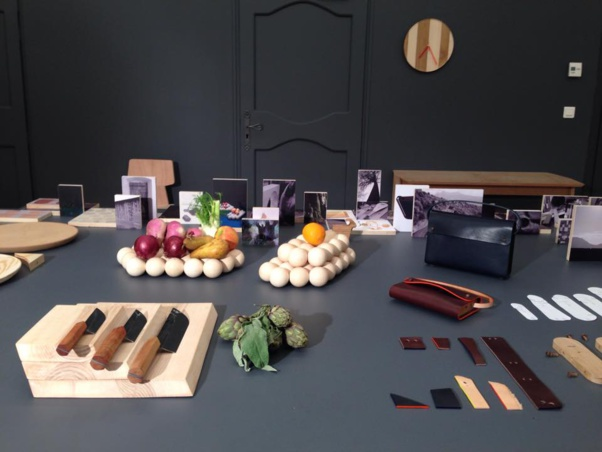 Quelques photos des prototypes issus de la première résidence Fabbrica design