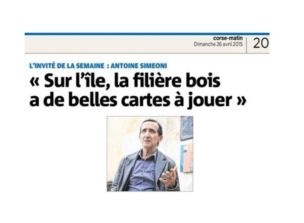 Interview d'Antoine Simeoni, secrétaire de l'Interprofession Legnu Vivu