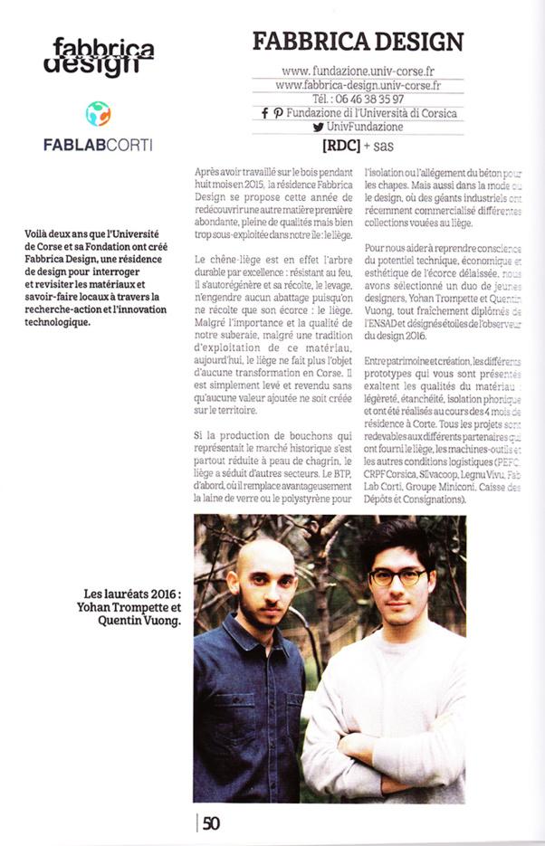 Fabbrica Design au Festival CREAZIONE !