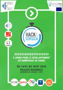 Hack4Corsica 2018 : 15 et 16 Janvier 2018 à Corte, les étudiants des filières informatique relèvent le défi !