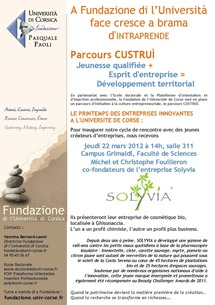 La Fondation invite la jeune entreprise Solyvia