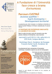 La Fondation invite deux start-up du Campusplex