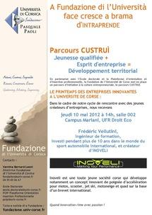 A Fundazione invite Inoveli, entreprise innovante et funky
