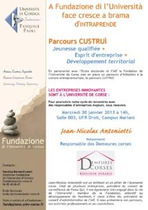 Custruì : scontru cù Jean-Nicolas Antoniotti