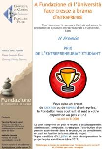 U Premiu : Prix de l'entrepreneuriat étudiant