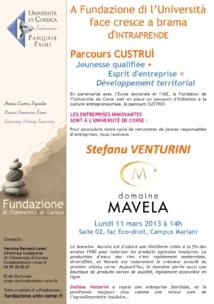 Scontru cù Stefanu Venturini, Domaine Mavela