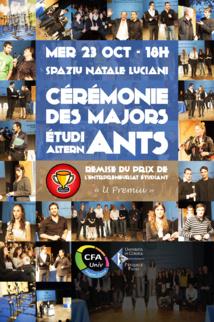 Remise du Premier Prix de l'Entrepreneuriat étudiant : U Premiu