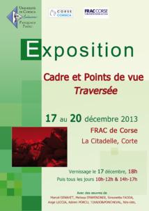 Et une exposition avec le FRAC Corse