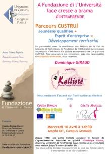 Parcours Custruì avec Dominique Giraud
