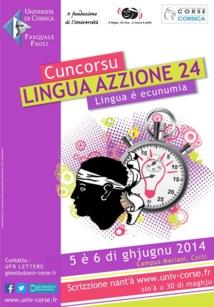 Eccu a nova edizione di u cuncorsu Lingu'Azzione