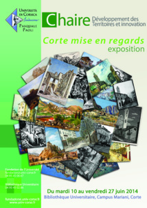 Exposition Corte mise en regards