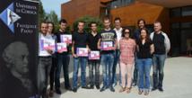Les lauréats de l'édition Lingu'Azzione 2014