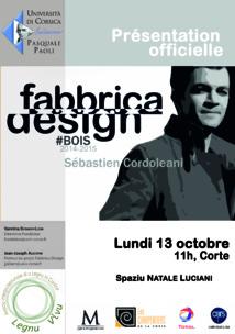 Présentation officielle du lauréat Fabbrica Design