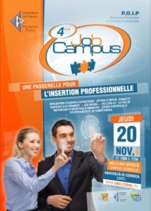 Job Campus et Job Dating le 20 novembre : Trouvez « entreprise à votre pied » !
