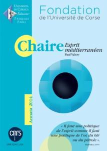 La chaire Esprit Méditerranéen - Paul Valery prépare sa deuxième année