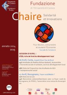 Cattedra ESS : Aprile 2015