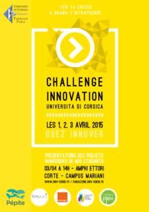 Le challenge Innovation se prépare...