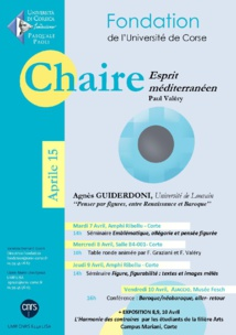 Chaire Esprit Méditerranéen - Session Avec Agnès Guiderdoni
