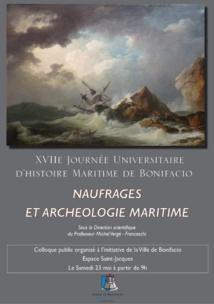 La chaire Esprit Méditerranéen aux Rencontres d'Histoire Maritime de Bonifacio