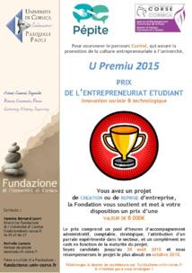 Nouvelle édition du Premiu -Prix de l'entreprenuriat étudiant