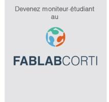 Le Fab lab recherche un moniteur étudiant