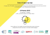 U Premiu 2015 : remise le 14 octobre