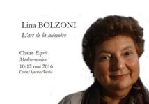 Chaire Esprit Méditerranéen avec Lina Bolzoni