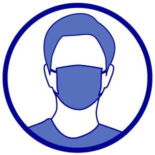Pictogramme masque obligatoire